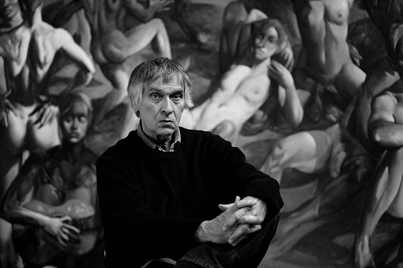 Ismar Mujezinović, painter